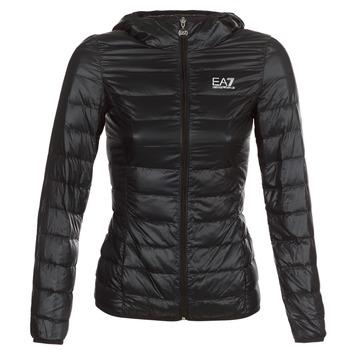 Ruhák Női Steppelt kabátok Emporio Armani EA7 TRAIN CORE LADY Fekete
