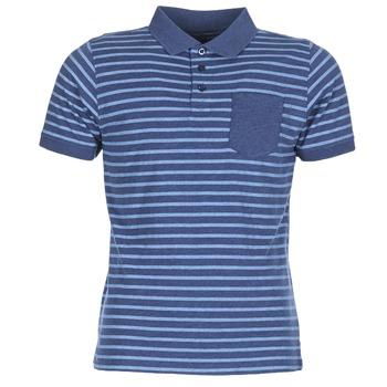 Ruhák Férfi Rövid ujjú galléros pólók Casual Attitude INUTIOLE Kék / Fehér
