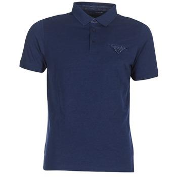 Ruhák Férfi Rövid ujjú galléros pólók Casual Attitude ITATATO Kék
