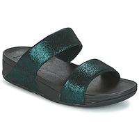 Cipők Női Papucsok FitFlop SLIDE Zöld