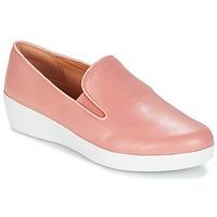 Cipők Női Belebújós cipők FitFlop SUPERSKATE Rózsaszín