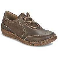 Cipők Női Oxford cipők Josef Seibel NEELE 28 Barna / Zöld