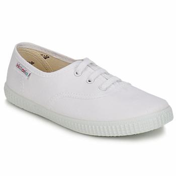 Cipők Gyerek Rövid szárú edzőcipők Victoria INGLESA LONA KID Fehér