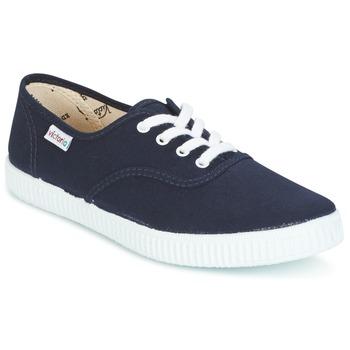 Cipők Rövid szárú edzőcipők Victoria INGLESA LONA Tengerész