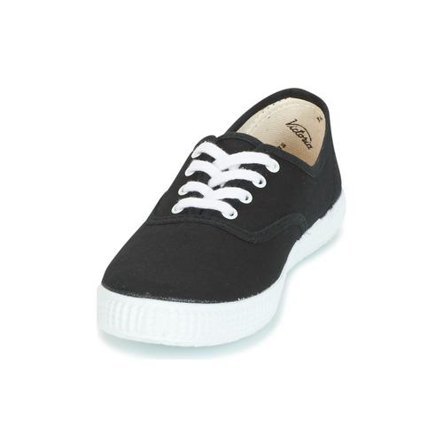 Victoria INGLESA LONA Fekete - Ingyenes Kiszállítás  Cipők Rövid szárú edzőcipők 10 279 Ft Yo9XS