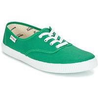 Cipők Rövid szárú edzőcipők Victoria INGLESA LONA Zöld