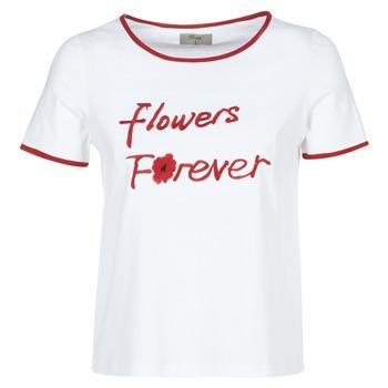 Ruhák Női Rövid ujjú pólók Betty London INNATIMBI Fehér / Piros
