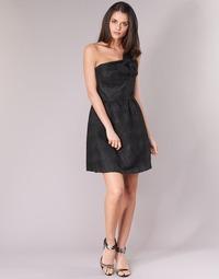 Ruhák Női Rövid ruhák Naf Naf ECLAIR Fekete