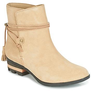 Cipők Női Csizmák Sorel Farah Short Bézs
