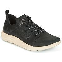 Cipők Férfi Rövid szárú edzőcipők Timberland FLYROAM LEATHER OXFO Fekete