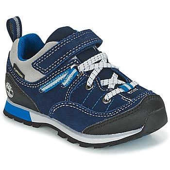 Cipők Gyerek Rövid szárú edzőcipők Timberland GRIFFIN PARK LOW GTX Kék