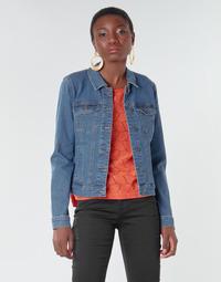 Ruhák Női Farmerkabátok Vero Moda VMHOT SOYA Kék / Átlagos