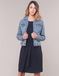Ruhák Női Farmerkabátok Vero Moda VMHOT SOYA Kék / Tiszta