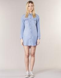 Ruhák Női Rövid ruhák Vero Moda VMSILLA Kék / Tiszta