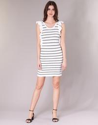 Ruhák Női Rövid ruhák Vero Moda VMABHY Fehér / Fekete