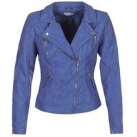 Ruhák Női Bőrkabátok / műbőr kabátok Only STEADY Kék