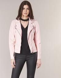 Ruhák Női Bőrkabátok Only STEADY Rózsaszín
