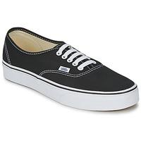 Cipők Rövid szárú edzőcipők Vans AUTHENTIC Fekete