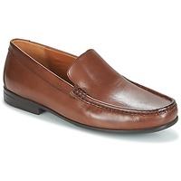 Cipők Férfi Mokkaszínek Clarks CLAUDE PLAIN Barna / Bőrszínű