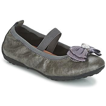 Cipők Lány Balerina cipők  Geox J PIUMA BALLERINES Szürke