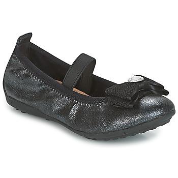 Cipők Lány Balerina cipők / babák Geox J PIUMA BALLERINES Fekete