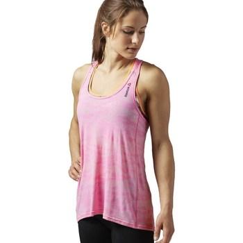 Ruhák Női Trikók / Ujjatlan pólók Reebok Sport OS BO Breeze Tank Rózsaszín