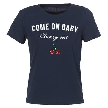 Ruhák Női Rövid ujjú pólók Only KITA Tengerész