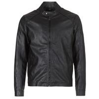 Ruhák Férfi Bőrkabátok / műbőr kabátok Yurban IMIMID Fekete