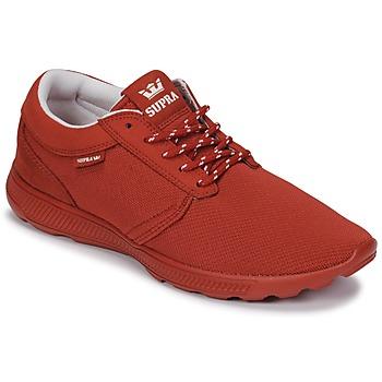 Cipők Rövid szárú edzőcipők Supra HAMMER RUN Piros