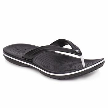 Cipők Lábujjközös papucsok Crocs CROCBAND FLIP Fekete