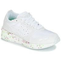 Cipők Gyerek Rövid szárú edzőcipők Asics HYPER GEL-LYTE GS Fehér / Rózsaszín / Zöld