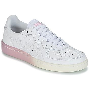 Cipők Női Rövid szárú edzőcipők Onitsuka Tiger GSM LEATHER Fehér / Rózsaszín