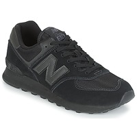 Cipők Rövid szárú edzőcipők New Balance ML574 Fekete