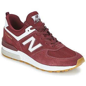 Cipők Férfi Rövid szárú edzőcipők New Balance MS574 Bordó
