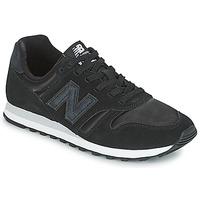 Cipők Női Rövid szárú edzőcipők New Balance WL373 Fekete
