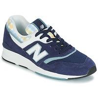 Cipők Női Rövid szárú edzőcipők New Balance WL697 Kék