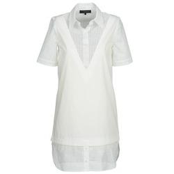 material Női Rövid ruhák American Retro CHARLOTTE Fehér