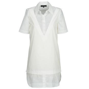 Ruhák Női Rövid ruhák American Retro CHARLOTTE Fehér