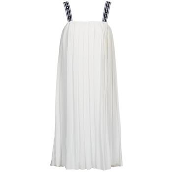 Ruhák Női Hosszú ruhák American Retro VERO LONG Fehér