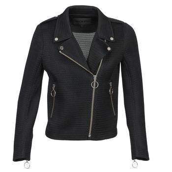 Ruhák Női Kabátok / Blézerek American Retro JASMINE JCKT Fekete