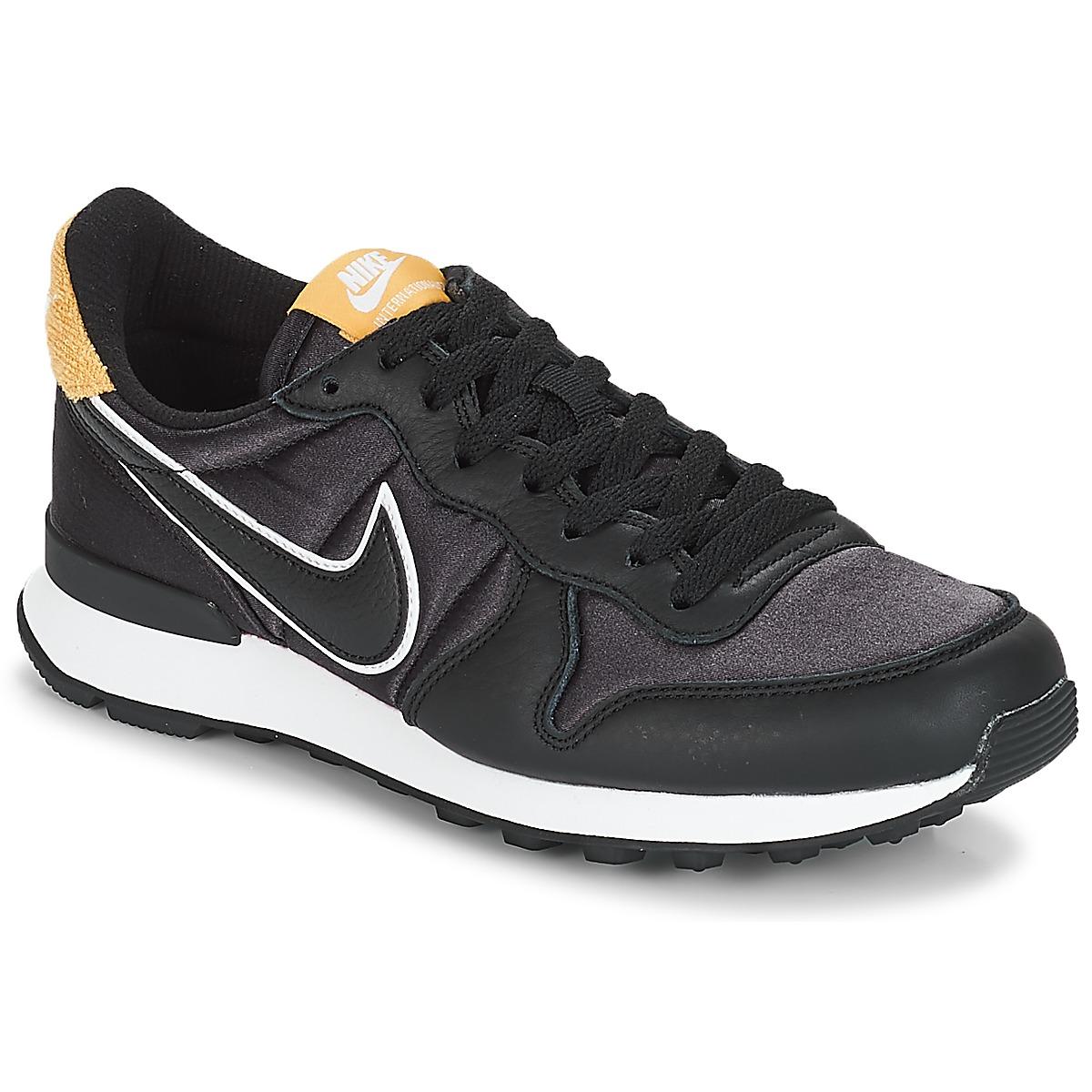 Nike INTERNATIONALIST HEAT Fekete   Arany - Ingyenes Kiszállítás a  SPARTOO.HU-mal ! - Cipők Rövid szárú edzőcipők Noi 26 743 Ft fc8a69caec