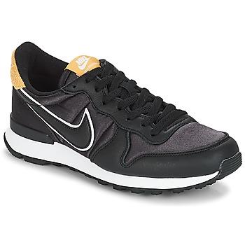 Cipők Női Rövid szárú edzőcipők Nike INTERNATIONALIST HEAT Fekete  / Arany
