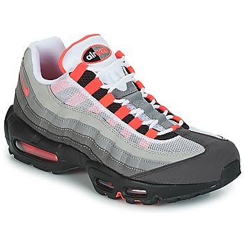 Cipők Férfi Rövid szárú edzőcipők Nike AIR MAX 95 OG Fehér / Piros