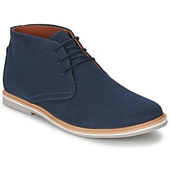 Shoes Férfi Csizmák Frank Wright BARROW Sötétkék / Vászon