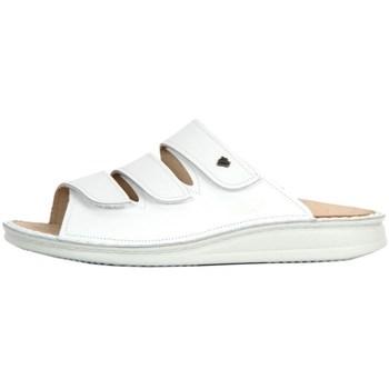 Cipők Női Papucsok Finn Comfort Korfu Weiss Nappa Fehér