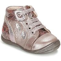 Cipők Lány Magas szárú edzőcipők GBB ROSEMARIE Rózsaszín