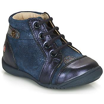 Cipők Lány Csizmák GBB NICOLE Tengerész