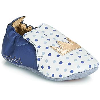 Cipők Lány Mamuszok Catimini CHIQUETTE Kék / Fehér