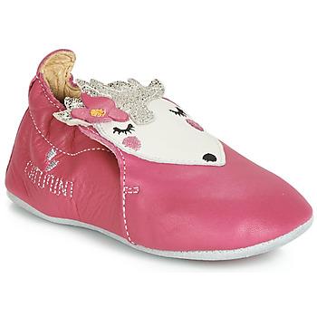 Cipők Lány Mamuszok Catimini HERISSETTE Rózsaszín