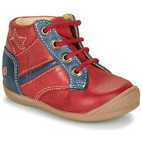 Cipők Fiú Magas szárú edzőcipők GBB RATON Piros